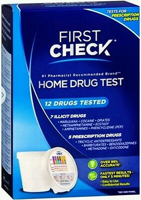 First Check Home 12 Drug Test