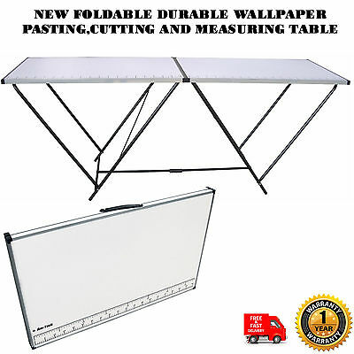New Foldable Durable Wallpaper Pasting,cutting And Measuring Table