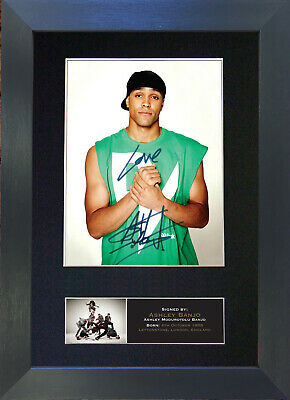 ASHLEY BANJO Signed Mounted Autograph Photo Prints A4 526