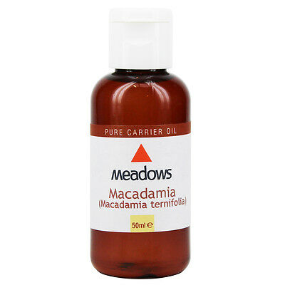 Macadamia Nut Cold Pressed Carrier Oil (Meadows Aroma) 50ml