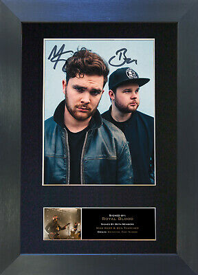 ROYAL BLOOD Signed Mounted Autograph Photo Prints A4 523