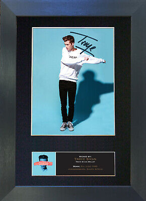 TROYE SIVAN Signed Mounted Autograph Photo Prints A4 521