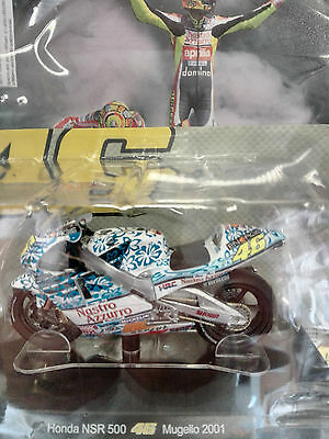 Valentino Rossi Collection Honda Nsr Mugello  (2001) Scala 1:18