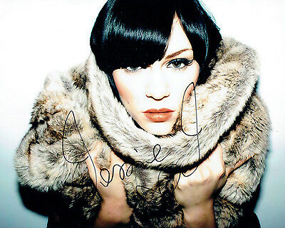 Jessie J SIGNED 10x8 Photo Singer Songwriter AFTAL Autograph COA