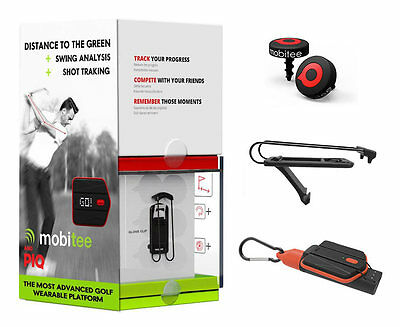 PIQ Golf Sensors - Golf GPS, Shot Tracker and Swing Analyzer All-In-One!