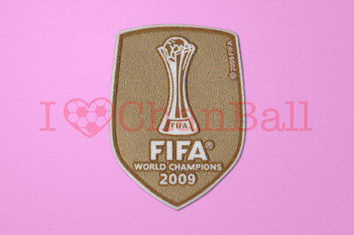 Barcelona Club World Cup 2009 Home Winner Sleeve Soccer Patch / Badge