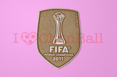 Barcelona Club World Cup 2011 Winner Sleeve Soccer Patch / Badge
