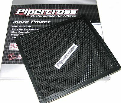 VAUXHALL ZAFIRA B 1.9 CDTi & 2.2 PIPERCROSS PERFORMANCE PANEL AIR FILTER PP1534