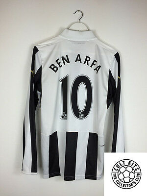 the best attitude 5a6a0 7597d NEWCASTLE UNITED BEN ARFA #10 12/13 L/S Home Football Shirt (S) Soccer  Jersey