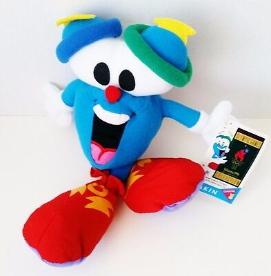 "NEW Dakin Izzy Plush 1996 Summer Olympics Mascot 10-3/4""  Licensed Hologram"
