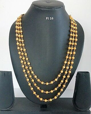 Indian Fashion Jewelry Bollywood Bridal Gold Plated Traditional Necklace Sets