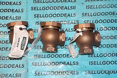 (3) Aqualine AVB-075 Brass Atmospheric Vacuum Breaker  3/4 in. FPT New