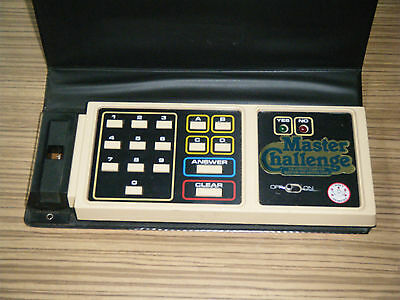 Vintage Crown & Andrews (Coleco) Master Challenge Electronic Game Computer