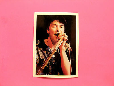 Paul Young Vintage Postcard Uk Made Large