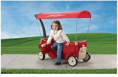 Step 2 All Around Canopy Wagon, Red  ~ Brand New In Box