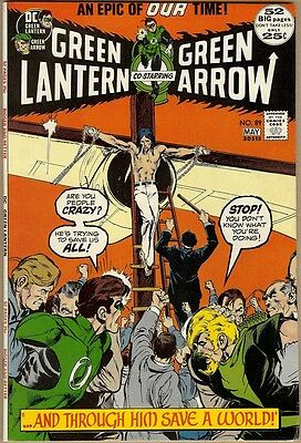 Green Lantern #89 - FN/VF - Neal Adams Art