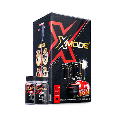 100 Energy Shots for $27.99 - X-Mode Energy Shots (Compare to 5 Hour Energy)