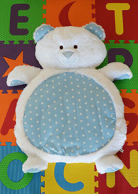 NEW Large Teddy Bear Rug Mat Newborn Baby Shower Gift - Boy or Girl Present