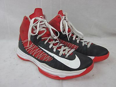 Men's Size 10 Nike ID Red Hyperdunk 2013 Basketball Shoes 553202-991