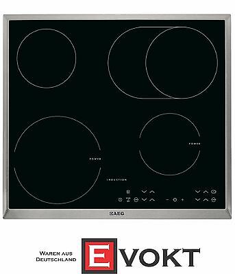 AEG HK634150XB Built In Induction Hob Ceramic Glass 4 Cooking Zones Genuine NEW