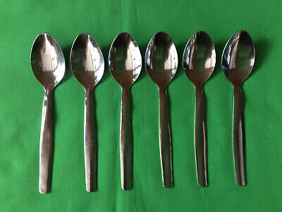 Stainless Steel Tea Spoons x 6 Oslo
