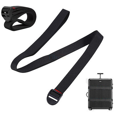 Adjustable Quick Release Buckle Luggage Suitcase Packing Strap Belt Durable Tool