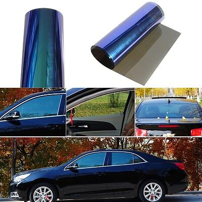 0.5x3M Chameleon Side Window Tint Solar Films Car Film Scratch Resistant 1X