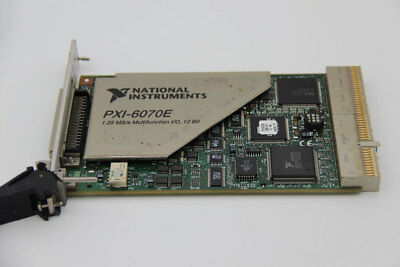 National Instruments NI PXI 6070E Card Tested