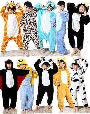 HOT Cosplay Animal  Top Children Kids Boys Girls Pajamas Unisex Onesie Sleepwear