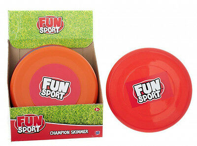 Flying Frisbee Plastic Ring 9 Inch Beach Fun Sport Toys Dog Catch Adults Kids