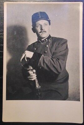 Photo postcard Austro-Hungarian soldier officer (46.)