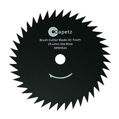 Quality Brush Trimmer Strimmer Cutter Blade 254mm 25.4mm Bore 40 Tooth