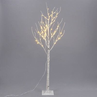 1.2/1.5/1.8m White Twig Branch Tree LED Tips Indoor/Outdoor Decoration