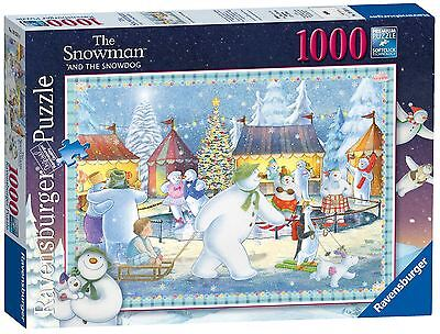The Snowman and Snowdog 1000 Piece Adults Puzzle - Ravensburger Puzzles