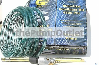 General Pump Industrial Sandblast Kit for Pressure Washers DWSDBTK 5500 PSI *NEW
