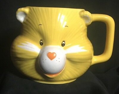 Vintage Care Bears Funshine Bear Mug