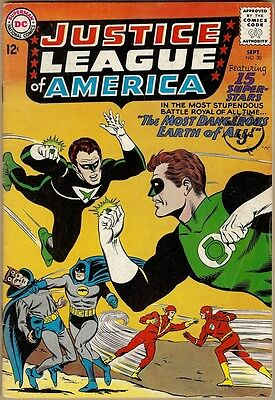 Justice League Of America #30 - VG+