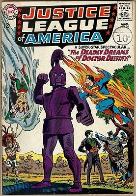 Justice League Of America #34 - VG-