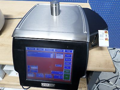 Hobart HLX Digital Scale & Printer System In Excellent Condition  #445