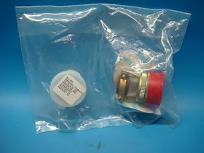 (1) Jt06Re-20-16P Sr Ms27473 Straight Plug Connector 16 Position Mil-Spec