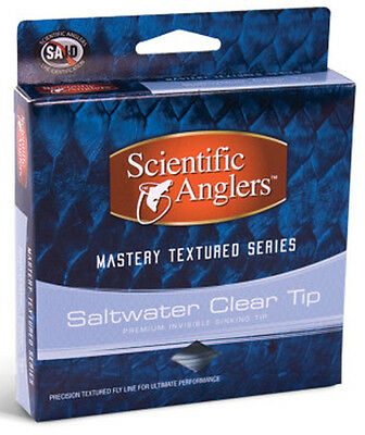 Scientific Anglers Mastery Textured Saltwater Clear Tip WF-8-F/S NIB