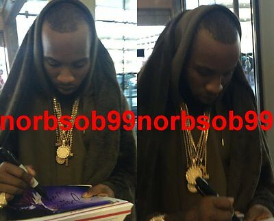 TORY LANEZ SIGNED AUTOGRAPH I TOLD YOU LUV SAY IT 8x10 PHOTO E w/PROOF
