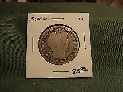 1906O G silver Liberty Barber Half Dollar, see our store for more, 1906 O