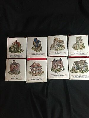 Liberty Falls - American Collection Lot of 8 Houses
