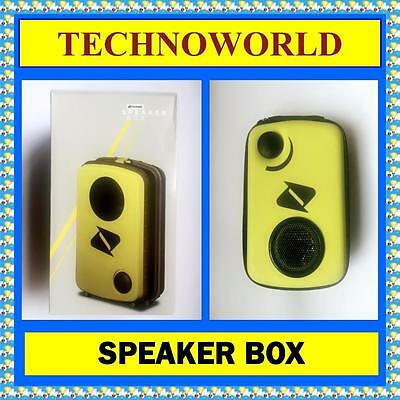 Boost Hard Case Speaker For Mobile Phone+Ipod+Apple Iphone+Htc+Lg+Sony+Ipad Lime