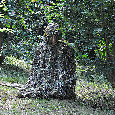 3D Hunting Set Camouflage Leaf Clothing Camo Yowie Sniper Archery Ghillie Suit