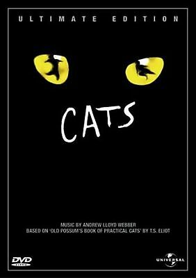 CATS Ultimate Edition dvds SEALED/NEW Film of Stage Musical Andew Lloyd Webber