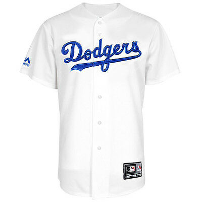 Majestic MLB Los Angeles Dodgers Home Replica Jersey - White