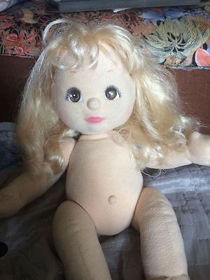 My Child Doll Blonde VPart Brown Charcoal