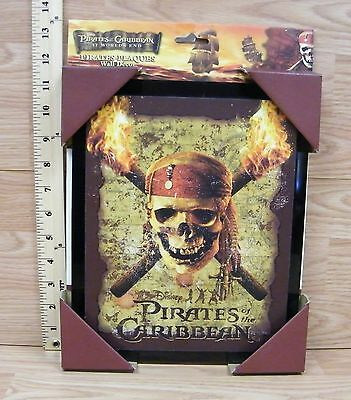 Disney's Pirates of the Caribbean at World's End Wall Decor Plaque **READ**